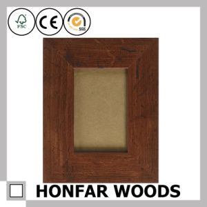 Rustic Gold Wood Picture Photo Frame for Home Decoration pictures & photos