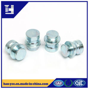 Step Grooved Solid Steel Galvanized Stud Pin Fastener pictures & photos