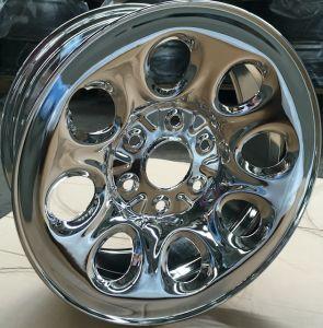 Full Face Chrome Car Steel Wheel Rim 17X7.5 pictures & photos