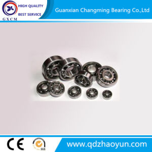 High Quality Single Row Deep Groove Ball Bearing 6200 pictures & photos