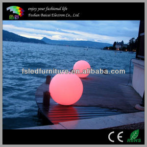 LED Glow Swimming Pool Ball /Solar LED Ball Light Outdoor