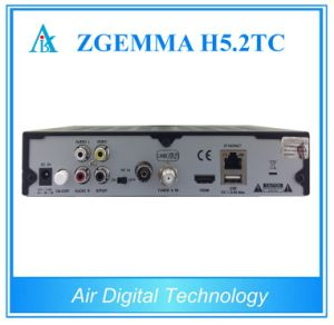 Linux OS E2 Combo Receiver Zgemma H5.2tc DVB-S2 + 2*DVB-T2/C Dual Tuners with Hevc/H. 265 Smart TV Box pictures & photos