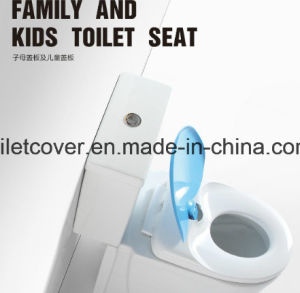 America Standard Family Toilet Seat with Kids Ring PP pictures & photos