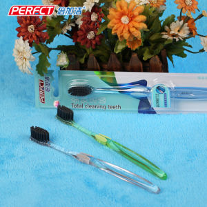 Perfect Transparent Black Filament Toothbrush pictures & photos