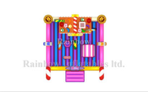 Candy Inflatable Playground, Sweet House Bouncy Inflatable Funcity pictures & photos
