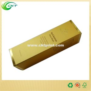Customized Cardboard Gold Metallic Paper Packaging Solution (CKT- CBM-035)