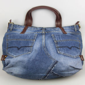 Washed Jeans Handbags, Cotton Bag, Leisure Bags for Women Fashion Accessory pictures & photos
