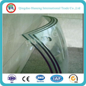 3mm-19mm Clear Curved Tempered Glass with CCC ISO pictures & photos