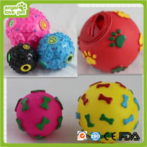 Pet Lovely Dog Vinyl Ball Toy pictures & photos