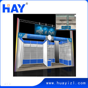 Exhibition Display Stand with Glass Showcase