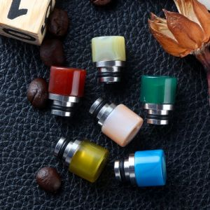 Agate Drip Tips 510 Epoxy Resin Drip Tip
