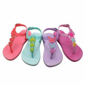 Women Jelly Shoes Sandals New Design Ladies Fashion Flip Flops pictures & photos