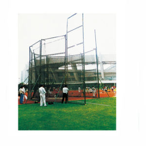 Iaaf Standard Movable Steel Discus and Hammer Throwing Cage pictures & photos