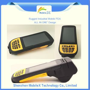 IP65 Rugged Industrial PDA, Hhu, Barcode Scanner, Lf RFID Reader pictures & photos