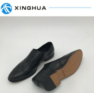 Genuine Leather Mens Fashion Shoes pictures & photos