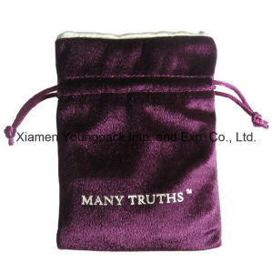 Fashion Personalized High Quality Small Polyester Satin Fabric Jewelry Gift Bag pictures & photos