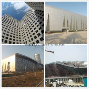 Stone Color Exterior and Interior Metal Wall Facade Aluminum Honeycomb Panels pictures & photos