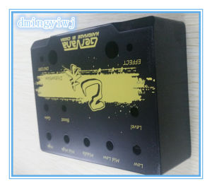Aluminum Die Casting for Music Equipment Parts with Painting and Silk-Screen Treatments pictures & photos