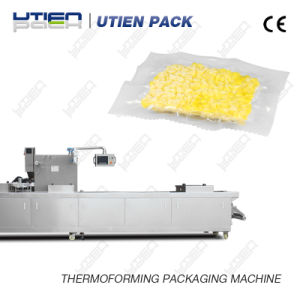 Frozen Corn Kernel Niblet Thermoforming Vacuum Packing Machine pictures & photos