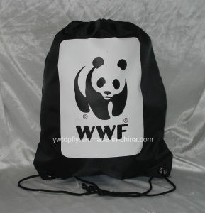 Custom Polyester Drawstring Sports Backpack Bag pictures & photos