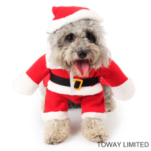 Christmas Pet Jumpsuit Dog Costume Pet Cosplay Clothes pictures & photos