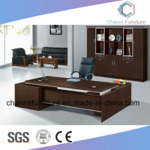 Modern Wooden Furniture Computer Desk Office Table with Mobile Cabinet pictures & photos