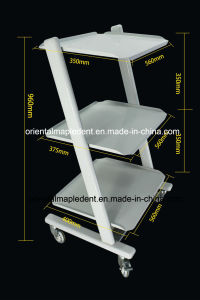 Dental Tool Cart Trolley of Dental Equipment pictures & photos