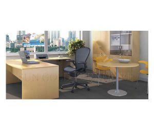 L Shape MDF Modern Office Desk (SZ-OD185) pictures & photos