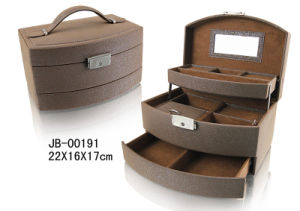 Luxury PU Leather Jewelry Box pictures & photos