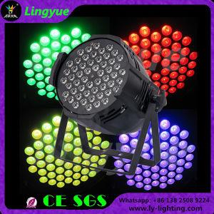 DMX DJ Full Color RGB LED PAR 54 3W pictures & photos