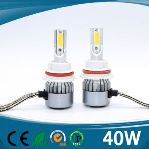 2017 New Better Quality Auto LED Headlight H7 40W 4500lm pictures & photos