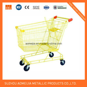 Ce &  ISO Approved Powder Coating Supermarket Shopping Trolly pictures & photos