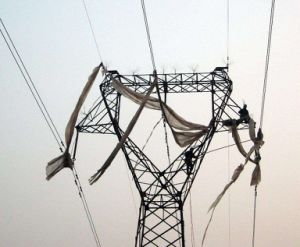 220kv Transmission Line with Steel Pipe pictures & photos