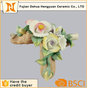 Artificial Flower Rose Handmade Porcelain Flower pictures & photos