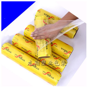 High Quality Good Stretchability PVC Cling Film pictures & photos