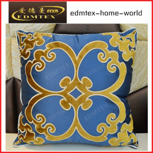 Luxury Cutting Velvets Embroidery Pillow
