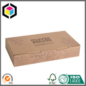 Litho Print Color Kraft Paper Packaging Box with Lock Tab pictures & photos