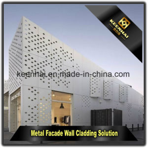 Commercial Wall Panels Aluminum Perforated Curtain Wall Cladding pictures & photos