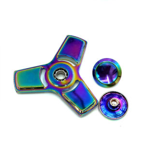 Hand Spinner Toys High Quality Anti Stress Toy Colorful Lead Fidget Spinner Alloy Fidget Spinner pictures & photos