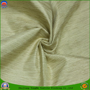 2017 Home Textile Woven Polyester Waterproof Flocking Fr Blackout Curtain Fabric pictures & photos