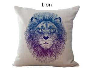 Animal Pillow Sofa Decorative Throw Cover Pillowcover Sofa Cushion pictures & photos