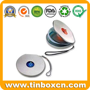 Round CD Tin Box, Metal DVD Bag, CD Case Tins pictures & photos