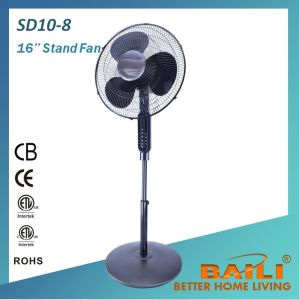 "16"" High End Oscillating Stand Fan with Remote Control, Pedestal Fan pictures & photos"