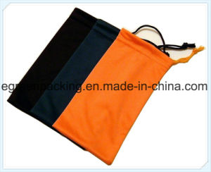 Microfiber Pouch Black and Orange pictures & photos