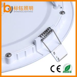 Flat Flush Mount Ceiling Lamps Round Mini 9W LED Panel Die Casting Aluminum pictures & photos
