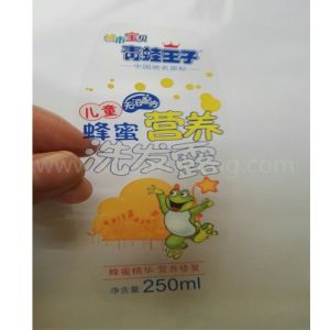 Customized Waterproof Transparent PVC Self Adhesive Stickers for Shampoo pictures & photos