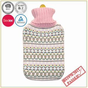 Multi Color Knitted Cover with Hot Water Bottle pictures & photos