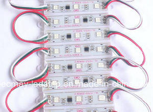 LED strip module 5050 Waterproof Injection DC 12V chasing color LED Module pictures & photos