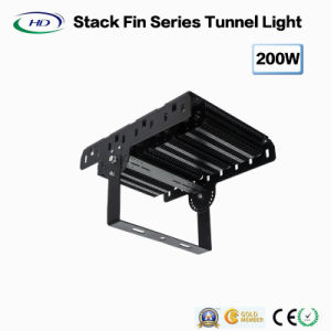 Hi-Power 200W LED Tunnel Flood Light Stack Fin Series pictures & photos