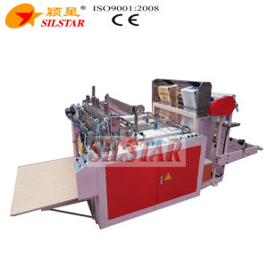 Double Lines T-Shirt Bag Making Machine pictures & photos